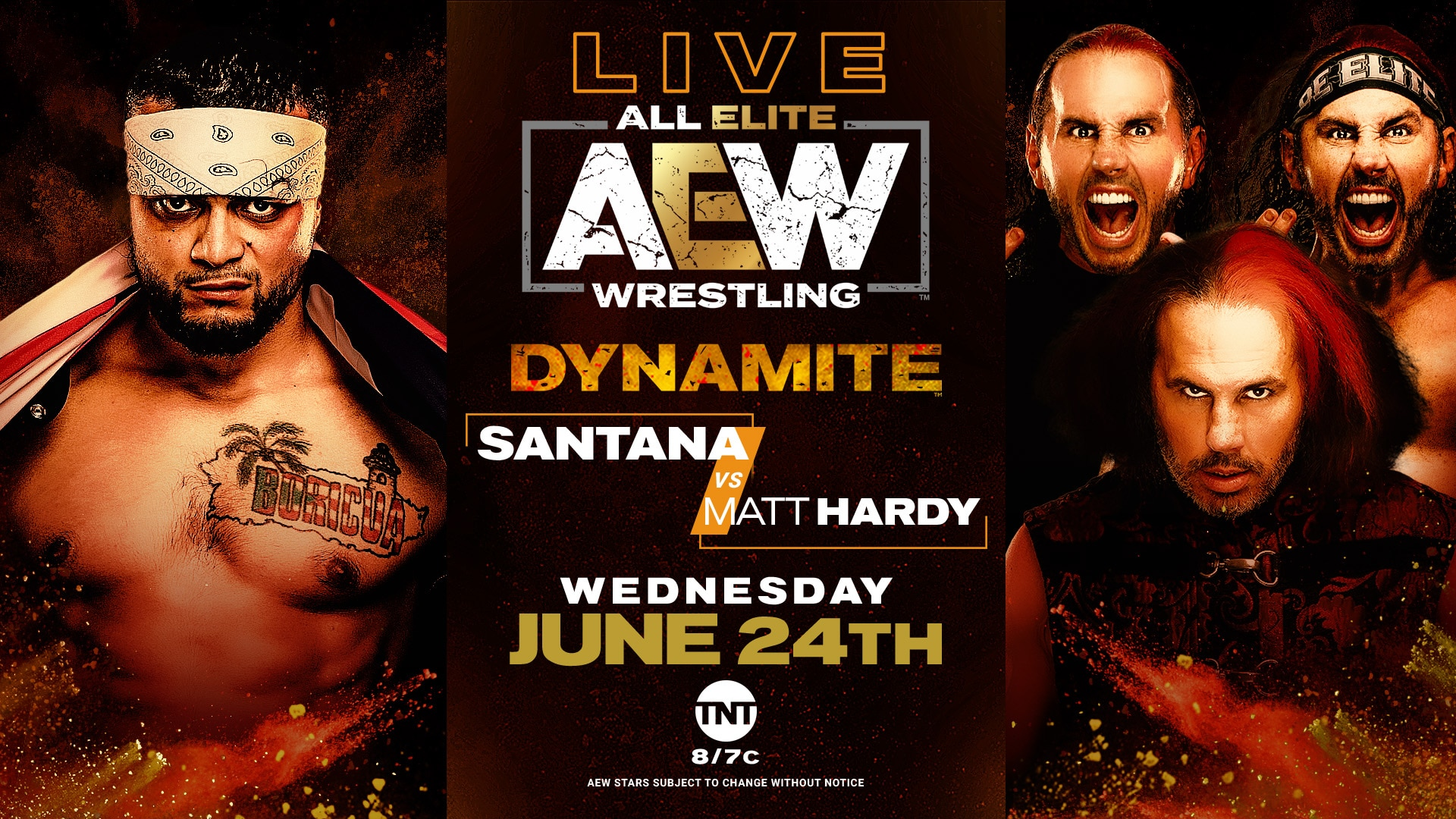 Santana vs Matt Hardy